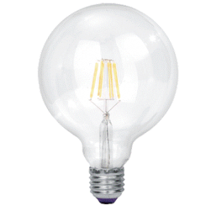9W Cool White LED Filament Bulb