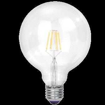 9W Cool White LED Filament Bulb