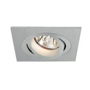 Downlight 12v 50w - Cnc Square Tilt - CO 80mm
