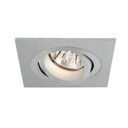 Downlight 12v 50w - Cnc Square Tilt - CO 80mm