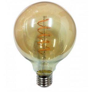 Led Filament 5w E27 2200k 125x160mm Amber