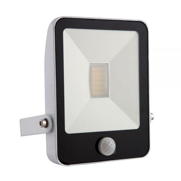 White 10w Led Motion Sensor Flood Light